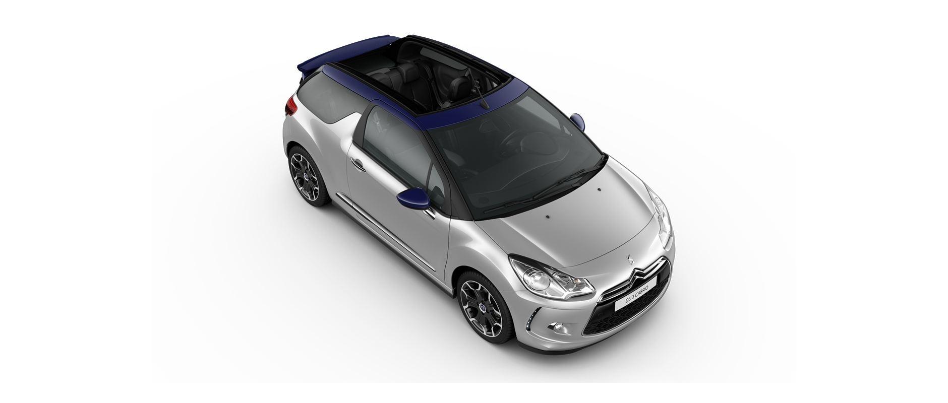 DS 3 Cabrio - Gris aluminium