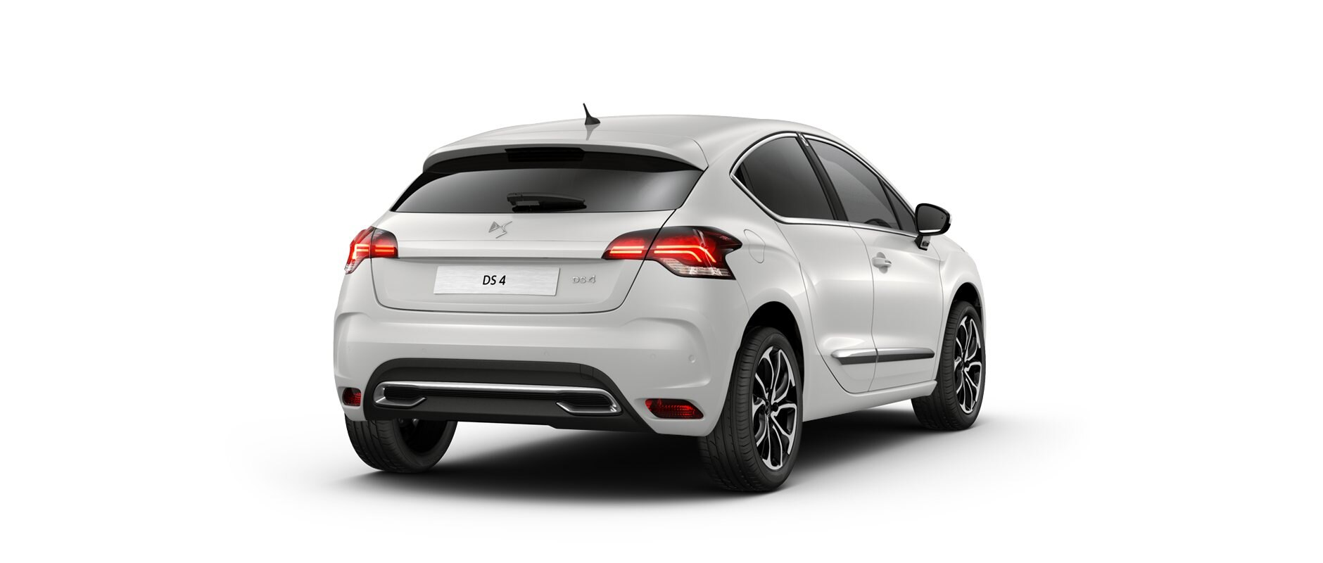 Nouvelle DS 4 - Pearl White